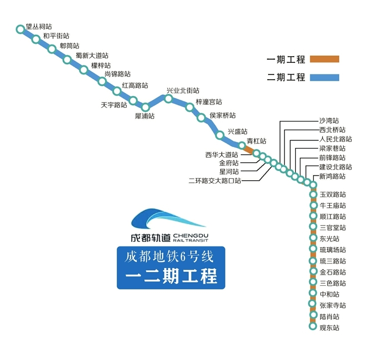 68.4公里!西部最長全地下軌道交通 地鐵6號線全線貫通