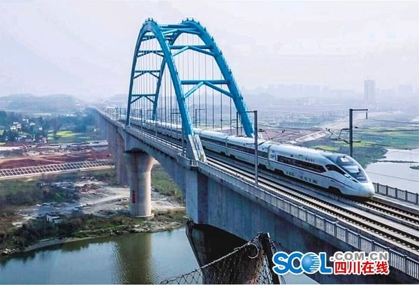 成渝中线高铁有新进展,时速将更快