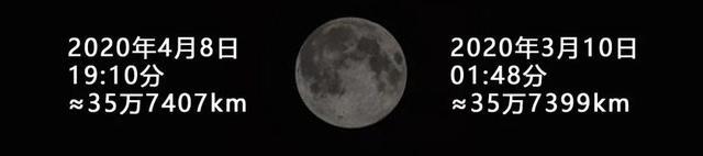 """4月8日凌晨,""""超级月亮""""现身成都上空,你错过了没?"""