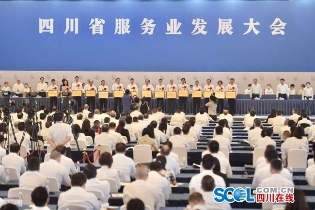 四川省促进服务业发展工作先进单位名单公布,快看有你熟悉的吗?